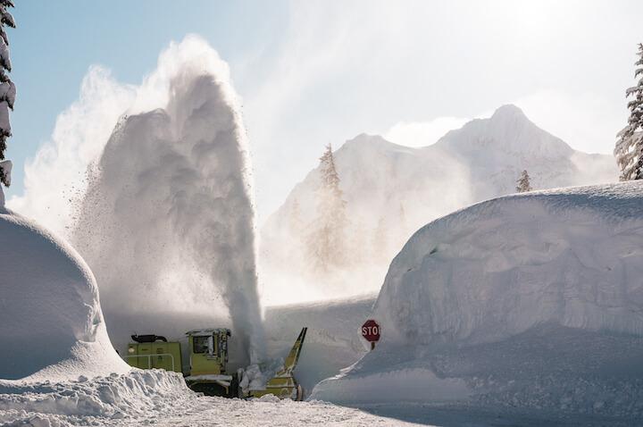 WSDOT Snow Removal